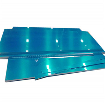 Aluminum Back Anodized Finish Plate with Holes