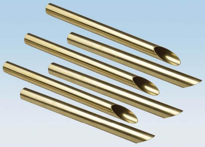 C44300 C68700 Brass Copper Alloy Tube ASTM B111