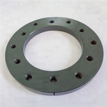 Carbon Steel A105n Weld Neck Flange with Forging