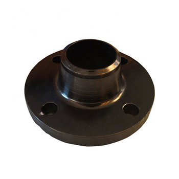 Wall Flange Without Base Plate for Tube Steel Satined