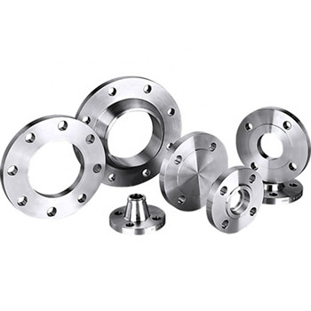 Pressure Vessel Stainless Steel Round Tube Sheet Flange