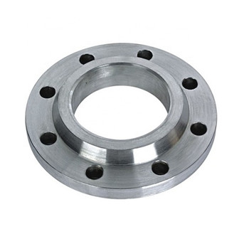 Industrial Pipe Adapter Collar Forged 6 Hole DIN Carbon Steel Plate Flange