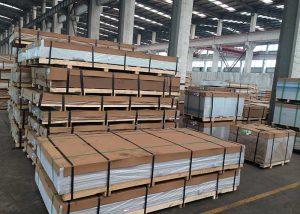 1050,3003,5052,5754,7075,8011 Alloy Aluminum Plate / Sheet