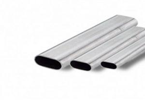 Oval tube Elliptic pipe Cold Drawn Welded S235JR, S275JR
