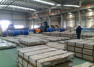 X10CrAlSi13 / 1.4724 steel sheet / plate