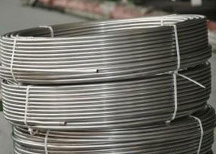 304 316 Seamless Welded Stainless Steel Coil Tube